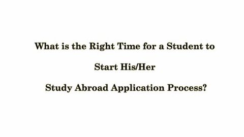 What is the procedure to study abroad after 12th?